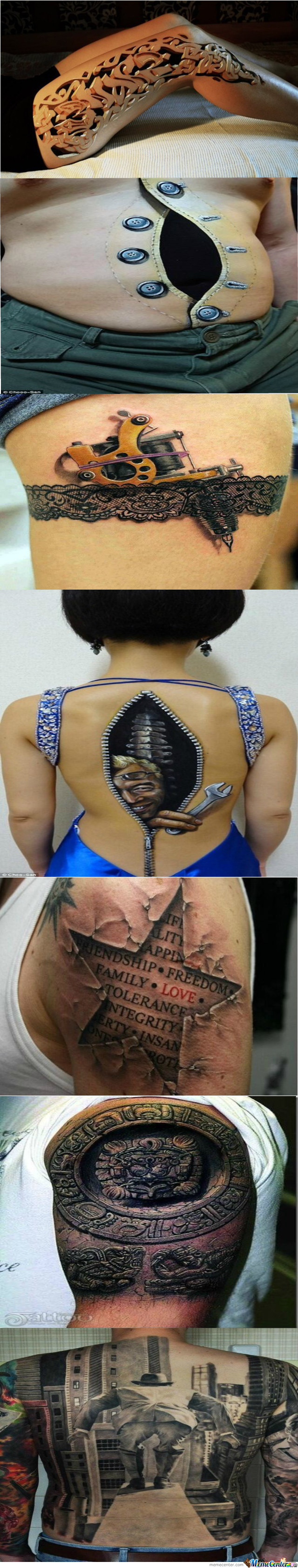 Awesome Looking Tattoos