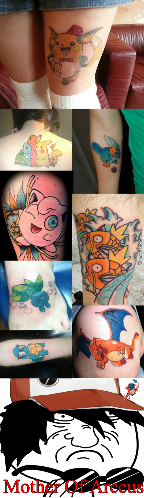 Awesome Pokemon Tattoos