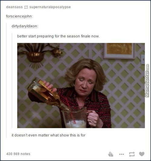 Awesome Tumblr 1166 (Supernatural And Arrow Tonight)