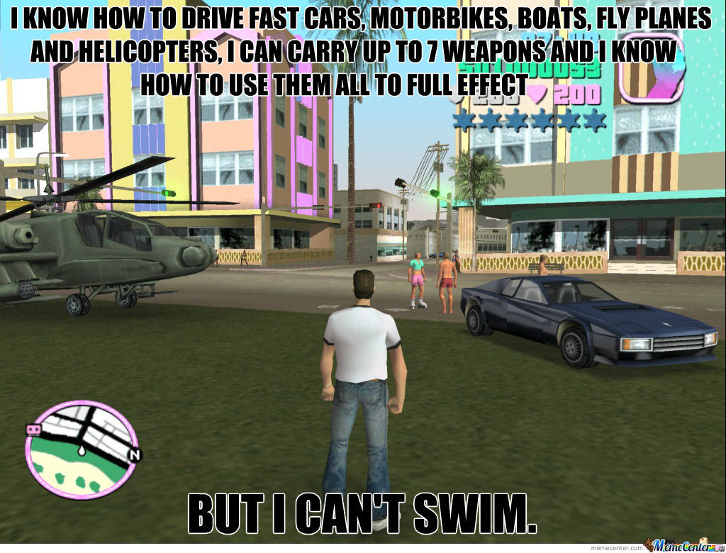 Awesome Vice City Logics Are Awesome