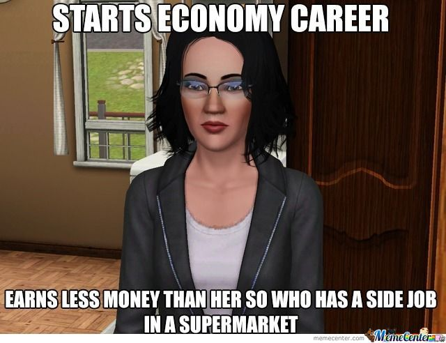 Aww Yea, Sims Logic (Happened To Me Today)