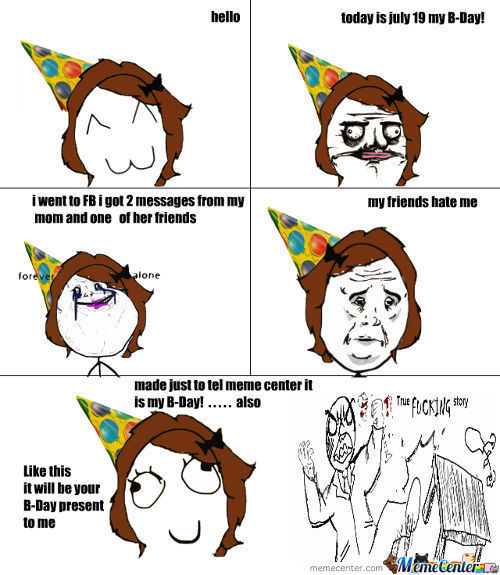 B-Day And I Made This *ie I Have No Life
