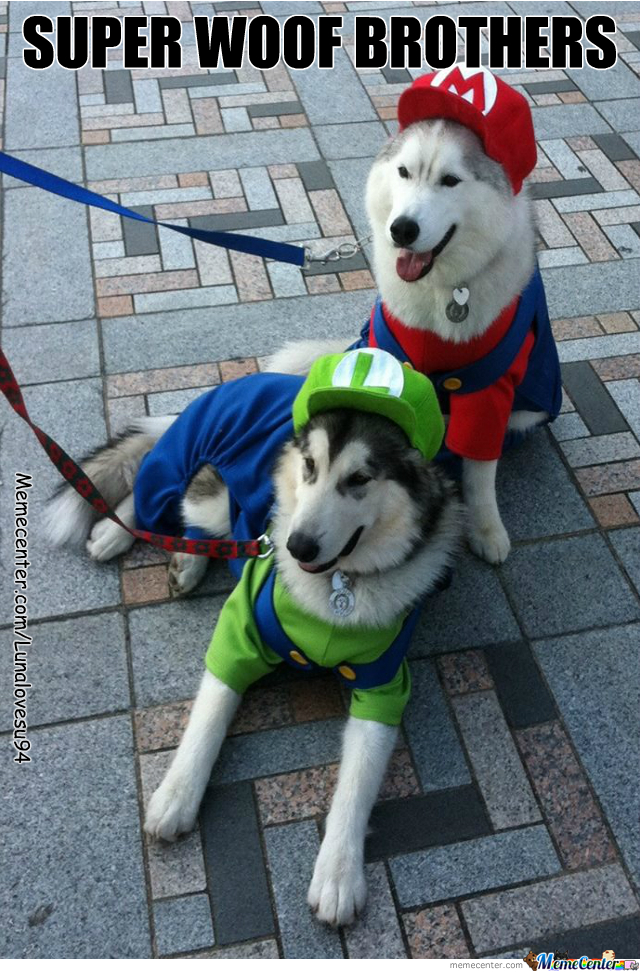 Super Woof Brothers