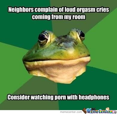 Bachelor Frog At It Again