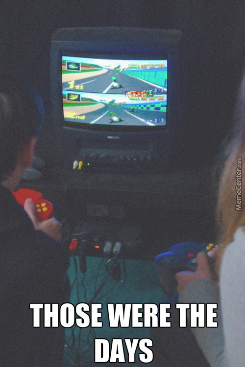 Back Then, If You Had A N64, Everyone Was Your Friend