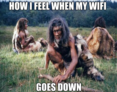 Back To The Days Before Internet, Or As I Call It, Caveman Time