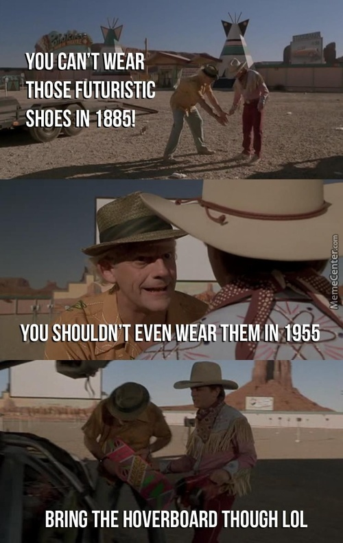 Back To The Future Logic