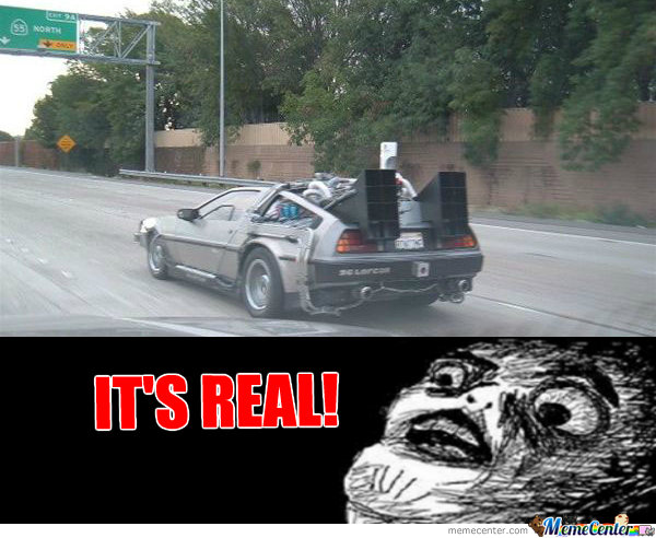 Back To The  Future Real