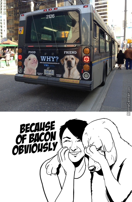 Bacon Wins The Argument