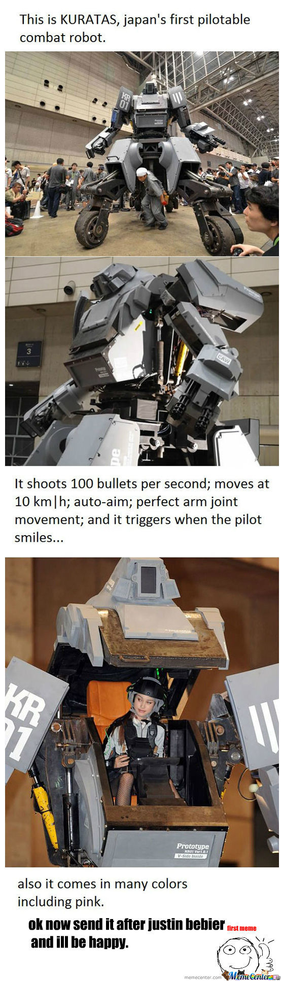Bad Ass Robot