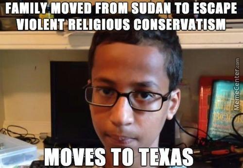 Bad Luck Ahmed Mohamed Hit The Jackpot