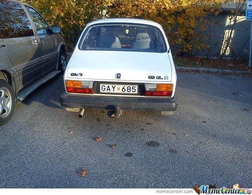 Bad Luck Bengt's First Car.