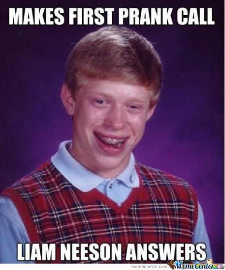 Bad Luck Brian 2012