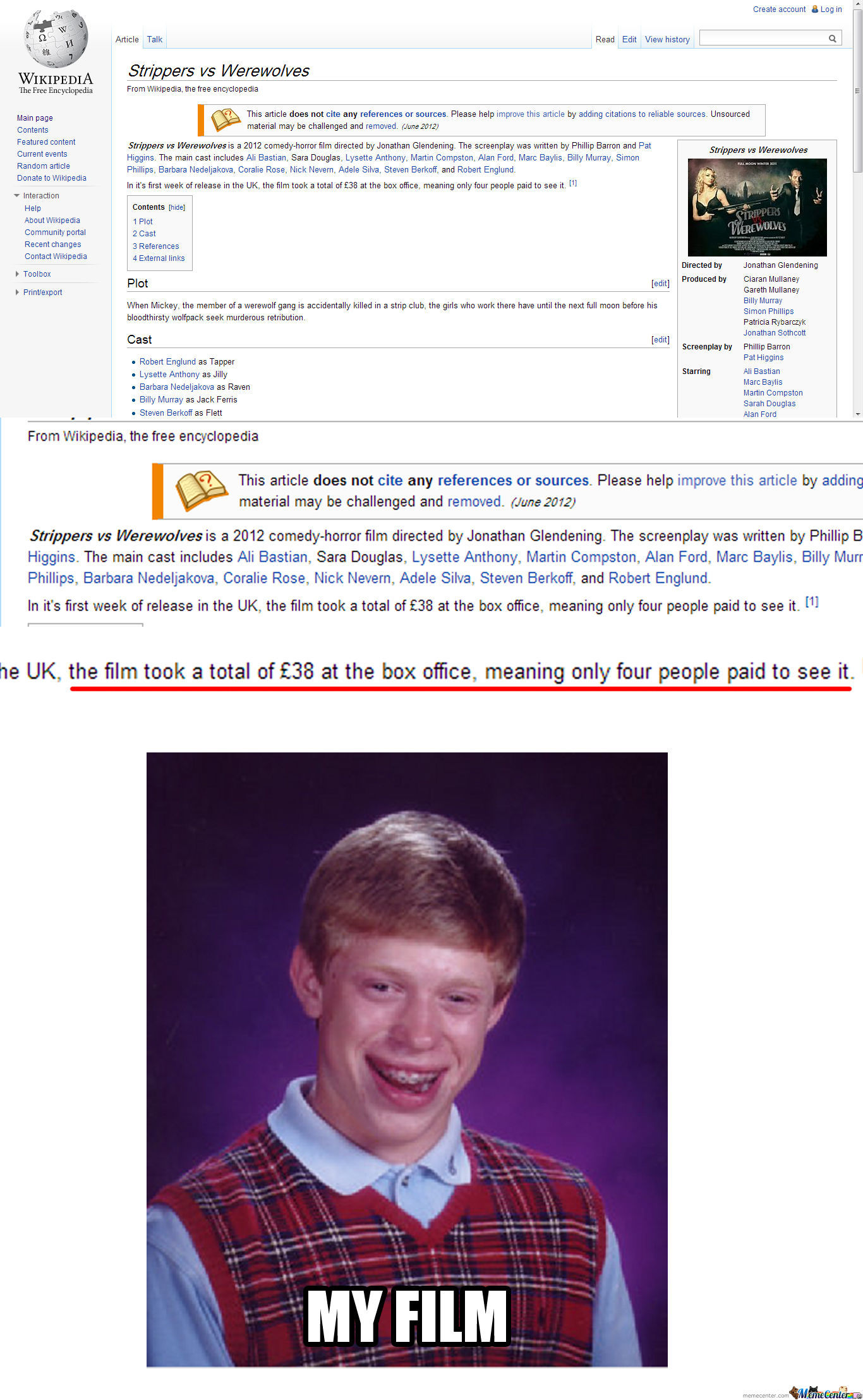 Bad Luck Brian's Film