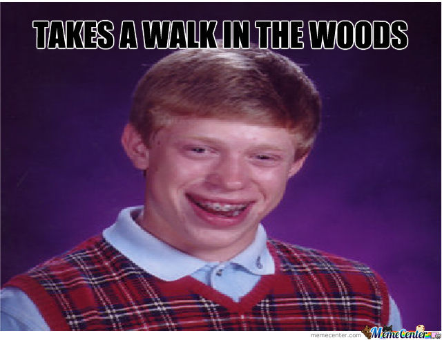 Bad Luck Brian And Slender Man