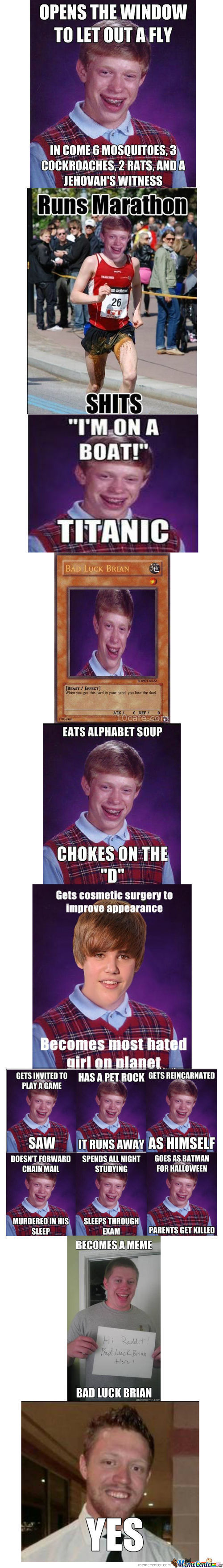 Bad Luck Brian Compilation