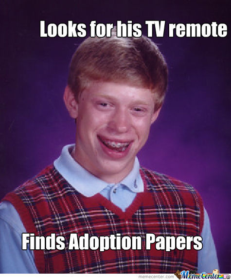 Bad Luck Brian First Meme