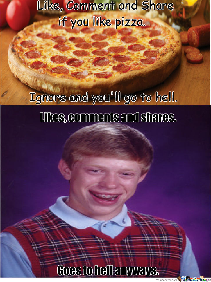 Bad Luck Brian Goes To Hell
