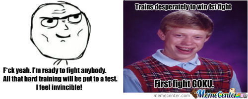 Bad Luck Brian Has No Luck At All.