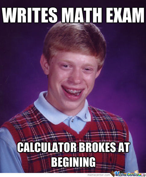 Bad Luck Brian In School