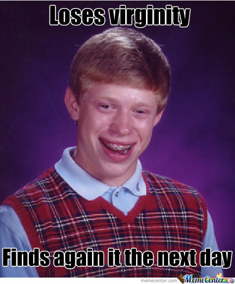Bad Luck Brian Rage