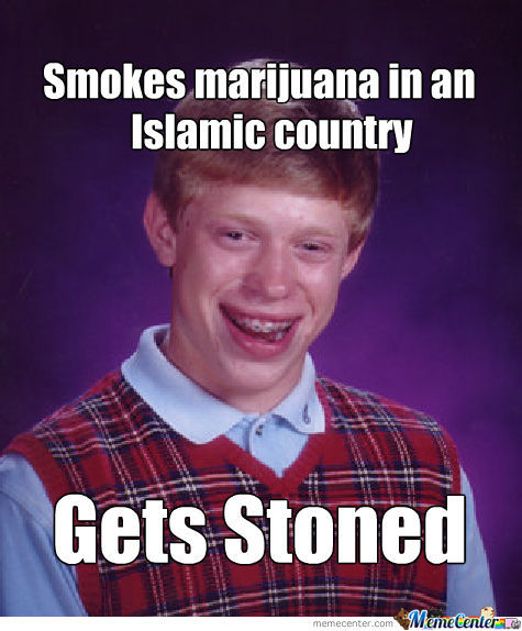Bad Luck Brian Smokes Some Marijuana