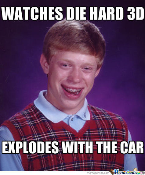 Bad Luck Brian Strickes Again