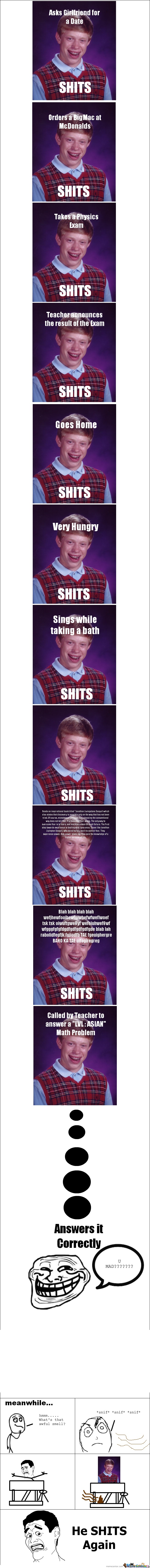 Bad Luck Brian Strikes Agian