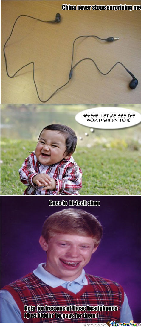 Bad Luck Brian Travel To China
