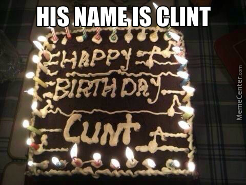 Bad Luck Clint