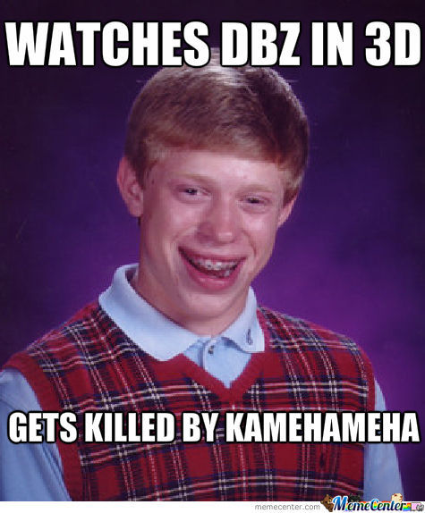 Bad Luck Dbz 3D