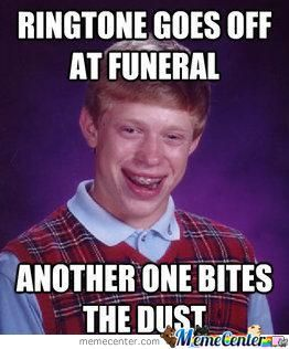 Bad Luck Funeral