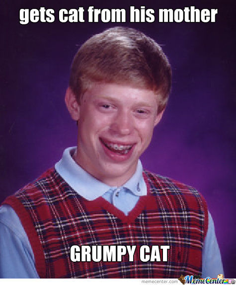 Bad Luck Grumpy
