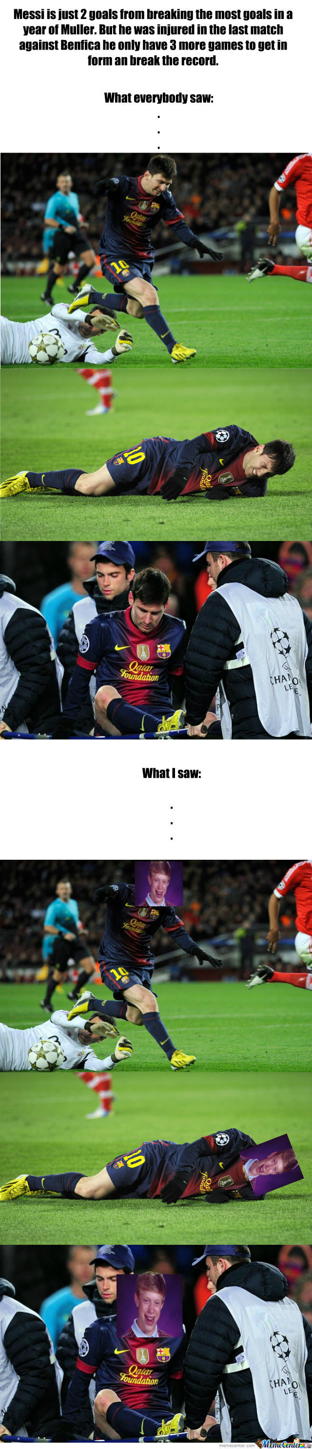 Bad Luck Messi