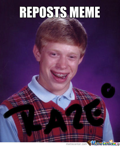 Bad Luck Reposter