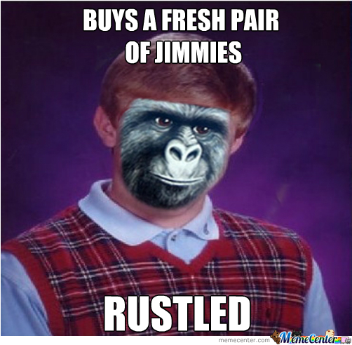 Bad Luck Rustled Brian