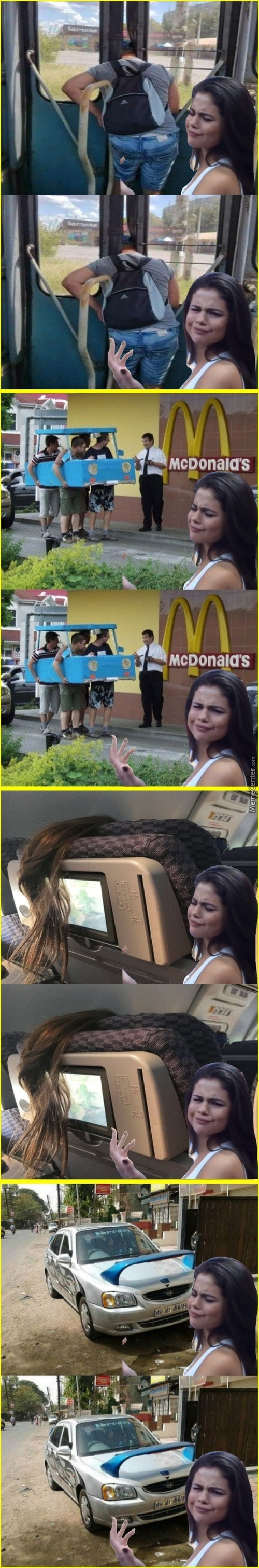 Bad Photoshop Selena