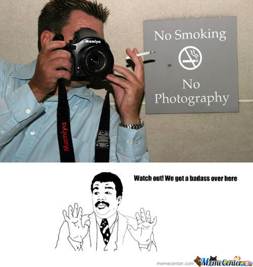 Badass Photographer