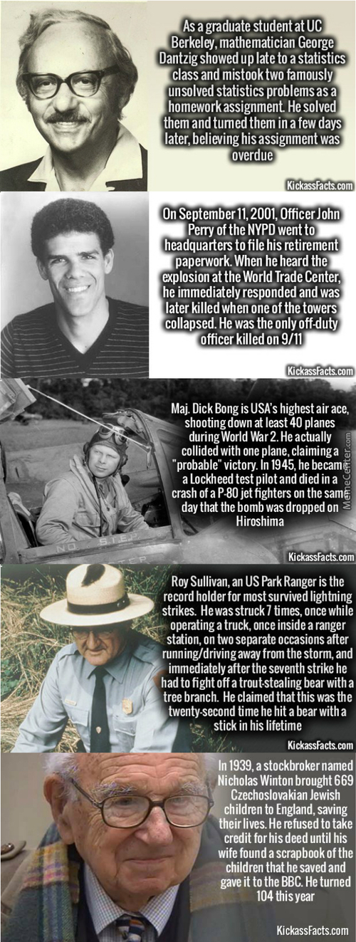 Badasses Of Recent And Distant History #3