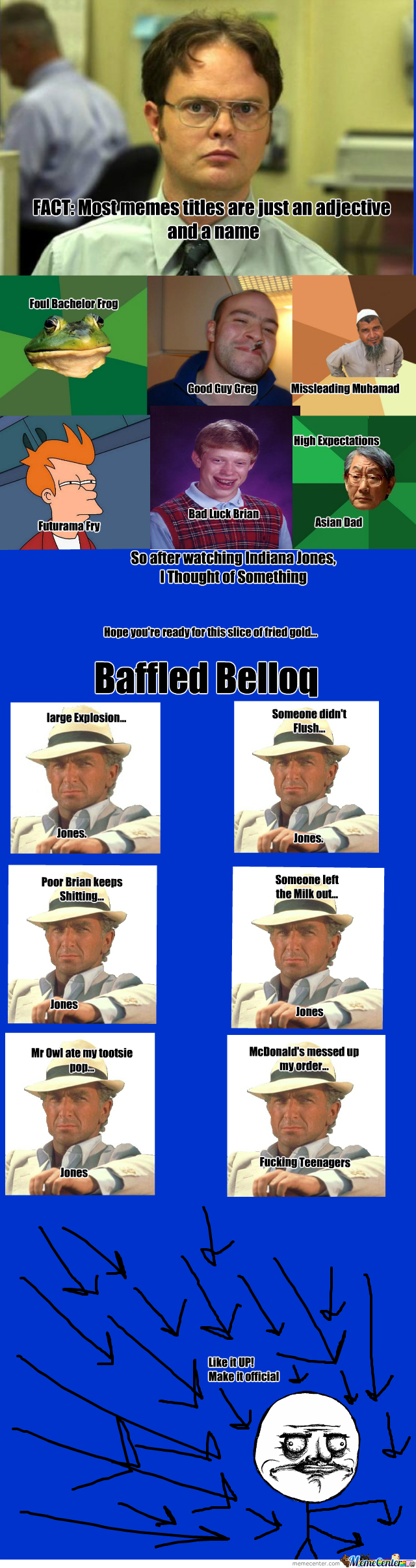 Baffled Belloq