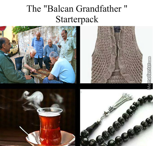 Balcan Grandfathers (Implying Turkey)