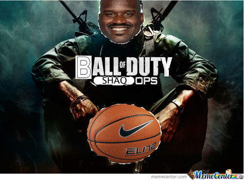 Ball Of Duty: Shaq Ops