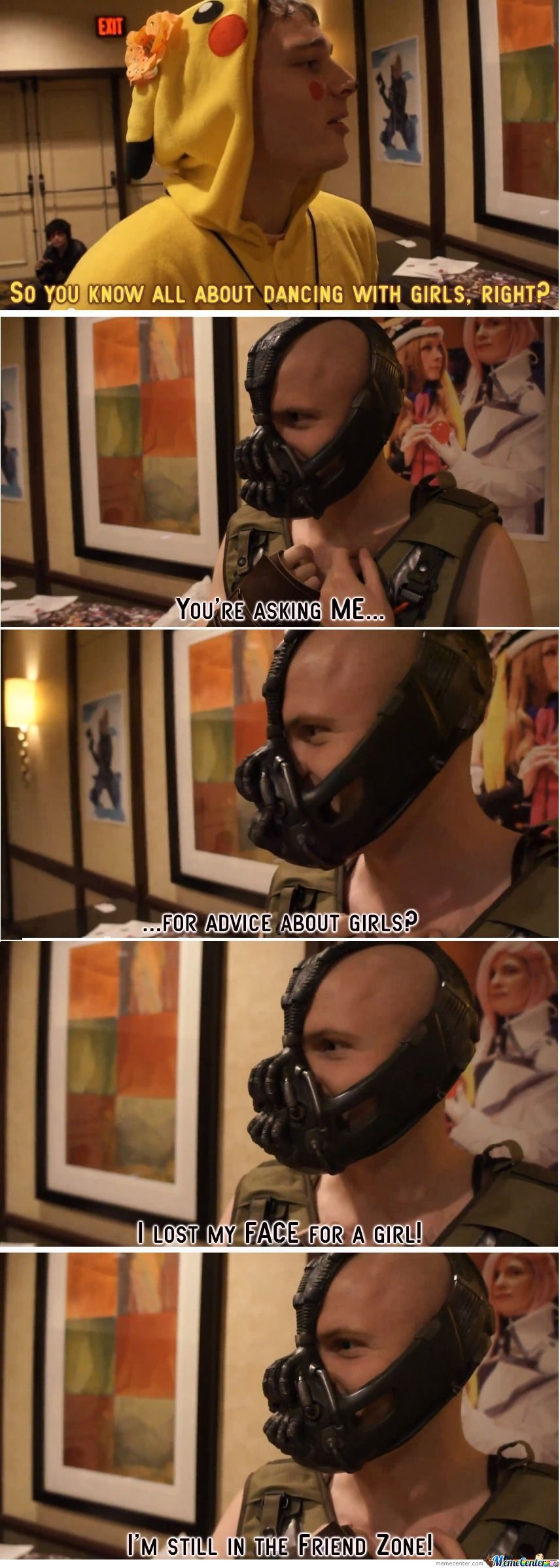 Bane Friendzoned