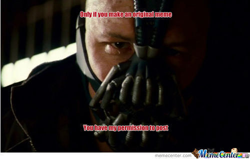 Bane On Memecenter