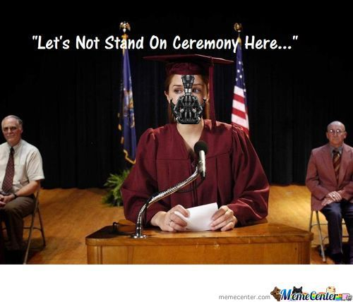 Bane's Graduation Speech