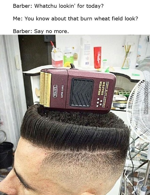 Barber: I Got U, Fam (Bruh)