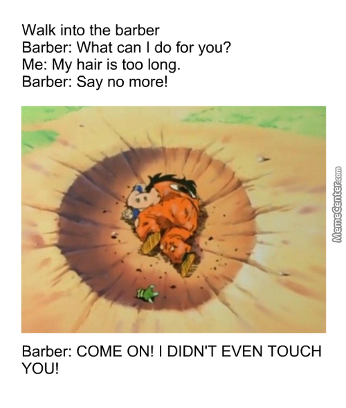 Barber Used Shampoo. It's Super Effective!