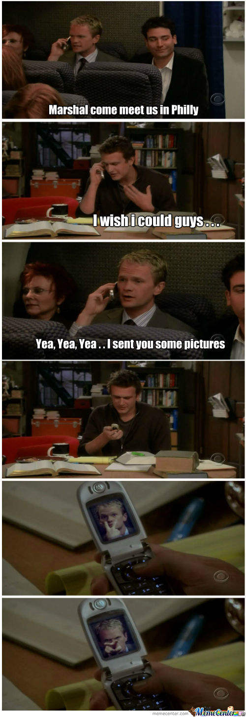 Barney Being A Legend