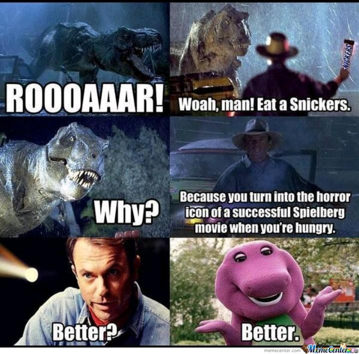 Barney, Eat A Snickers