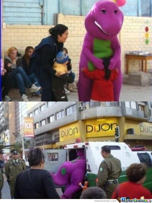 Barney's Totally Worth It Moment